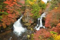 Wasserfall in Niko stockbild
