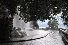 Wasserfall in Nizza Stockfotos