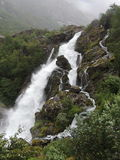Wasserfall in Norwegen Stockfoto
