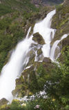 Wasserfall in Norwegen Lizenzfreies Stockfoto