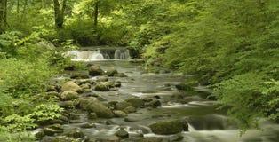Wasserfall-Panorama Stockfoto