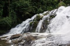 Wasserfall Pha Dok Siao Chiangmai-Provinz Thailand, schönes wa Lizenzfreies Stockfoto