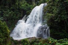Wasserfall Pha Dok Siao Chiangmai-Provinz Thailand, schönes wa Stockfotografie