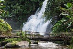 Wasserfall Pha Dok Siao Chiangmai-Provinz Thailand, schönes wa stockfoto