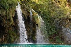 Wasserfall in Plitvice Lizenzfreies Stockbild