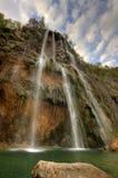 Wasserfall in Plitvice Lizenzfreies Stockfoto