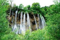 Wasserfall Plitvice am Nationalpark Stockbilder