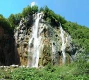 Wasserfall Plitvice See-Nationalpark Stockbild