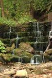 Wasserfall in Polen Lizenzfreies Stockbild