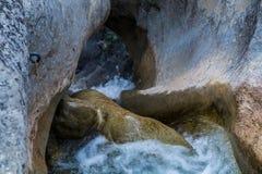 Wasserfall, pontaix, drome, Frankreich Stockfoto