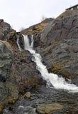 Wasserfall in Portugal-Bucht, Neufundland lizenzfreies stockfoto
