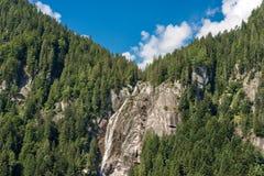Wasserfall Regina del Lago - Adamello Trento Italien Lizenzfreie Stockbilder