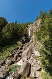 Wasserfall Regina del Lago - Adamello Trento Italien Stockfotografie