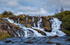 Wasserfall, Reykjavik Stockfoto