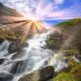 Wasserfall Rod lizenzfreies stockfoto
