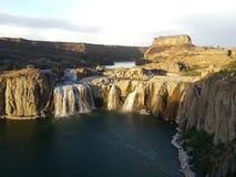 Wasserfall in Südafrika Lizenzfreies Stockfoto