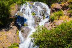 Wasserfall am Salika-Wasserfallstaatsangehörigen in Thailand Stockfoto