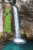 Wasserfall in Sapadere-Schlucht Stockfotografie