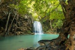 Wasserfall schön (erawan Wasserfall) in kanchanaburi Provinz Lizenzfreies Stockbild