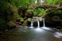 Wasserfall Schiessentümpel Stockbild