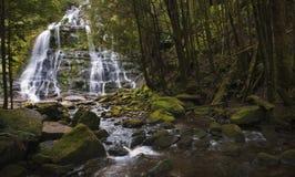 Wasserfall in Schwarzweiss Lizenzfreie Stockbilder