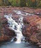 Wasserfall in Schweden Lizenzfreie Stockfotos