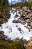 Wasserfall in Sibirien, Altai Lizenzfreie Stockfotos