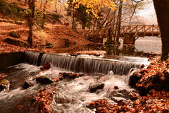 Wasserfall in sieben Seen Lizenzfreies Stockfoto
