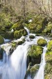 Wasserfall Skaklia, Bov-Dorf, Iskarsko-Schlucht Lizenzfreie Stockfotos