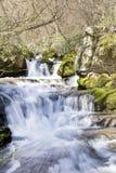 Wasserfall Skaklia, Bov-Dorf, Iskarsko-Schlucht Lizenzfreies Stockbild