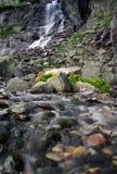 Wasserfall - Skok lizenzfreie stockbilder