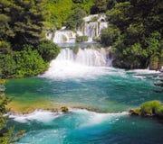 Wasserfall Skradinski Buk Lizenzfreies Stockbild