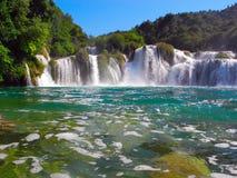 Wasserfall Skradinski Buk Stockfotos