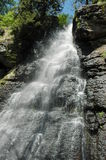 Wasserfall in Slowakei lizenzfreies stockbild