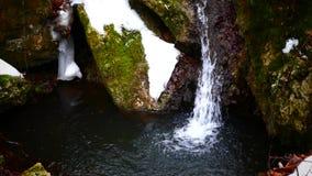 Wasserfall sourse stock video footage