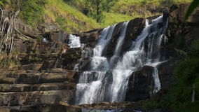 Wasserfall-St. Claire, Sri Lanka stock video