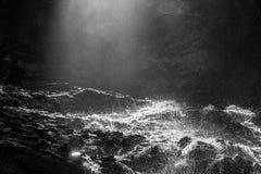 Wasserfall, Stechelberg, die Schweiz Lizenzfreies Stockfoto