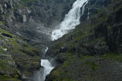 Wasserfall Stigfossen Stockbilder