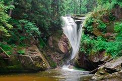 Wasserfall Szklarki Lizenzfreie Stockfotografie
