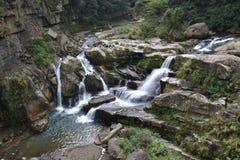 Wasserfall in Taiwan Stockfotografie