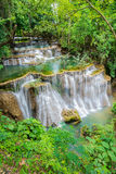 Wasserfall in Thailand Stockfotos