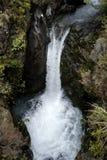 Wasserfall Tongariro NP Stockbild