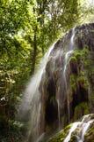 Wasserfall Trinidad in Monasterio de Piedra Stockbilder