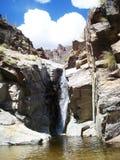 Wasserfall in Tucson, Arizona lizenzfreie stockfotografie