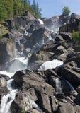 Wasserfall Uchar Lizenzfreie Stockbilder
