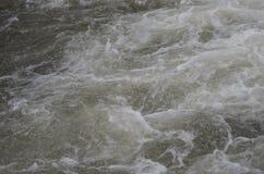 Wasserfall und Dampf Stockbilder