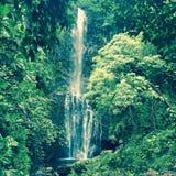 Wasserfall und Pool auf Maui, Hawaii Stockbild