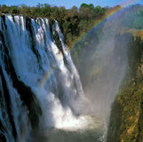 Wasserfall Victoria Lizenzfreie Stockfotos