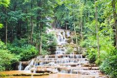 Wasserfall vieler Jobstepps Lizenzfreies Stockbild