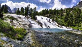 Wasserfall voldoire Lizenzfreie Stockfotografie